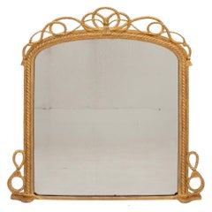 Antique Maritime Gilded Mirror, circa 1840