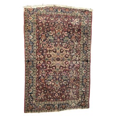 Antique Mashhad Rug