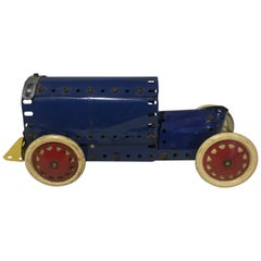 Antique Meccano Brass Display Toy Car