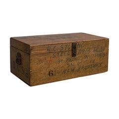 Antique Merchant's Tool Chest, Canadian, Mahogany, Trunk, Victorian, circa 1900
