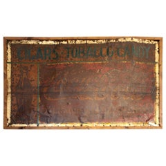 "Antique Metal ""Coca Cola Sign"""