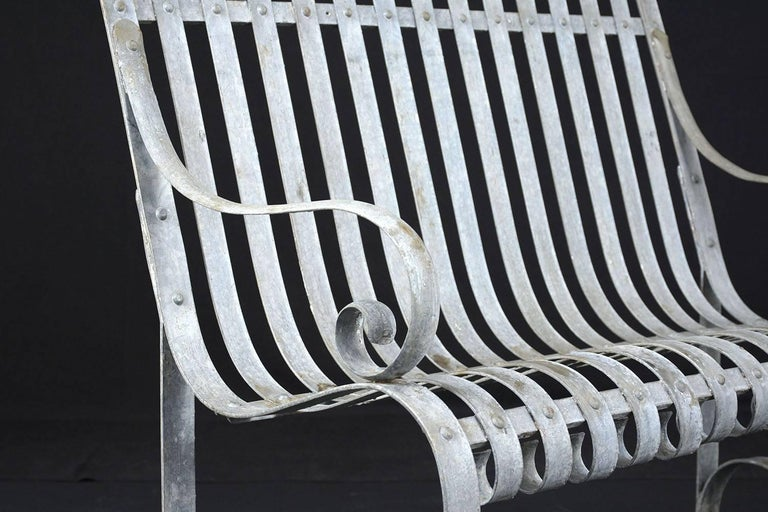 Antique Metal Outdoor Patio Bench For Sale At 1stdibs