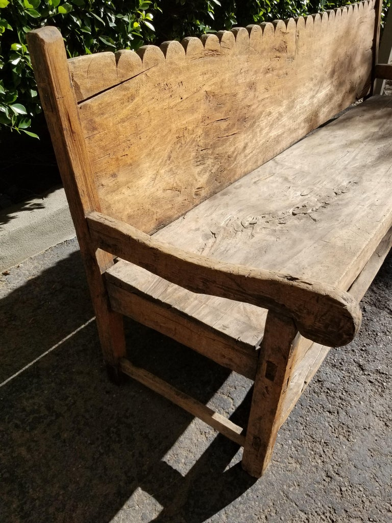 Antique Mexican Bench 3
