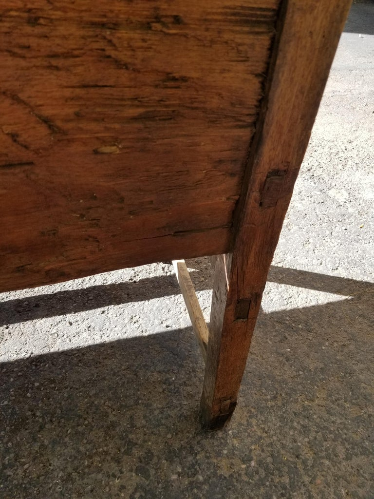 19th Century Antique Mexican Bench