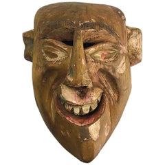 Antique Mexican Carnaval Mask