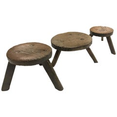 Antique Milking Stools