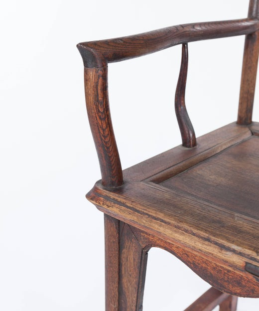 - Antique Ming-Style Chinese Elm Chair, Late 19th Century At 1stdibs