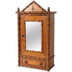 Antique Miniature Model Armoire