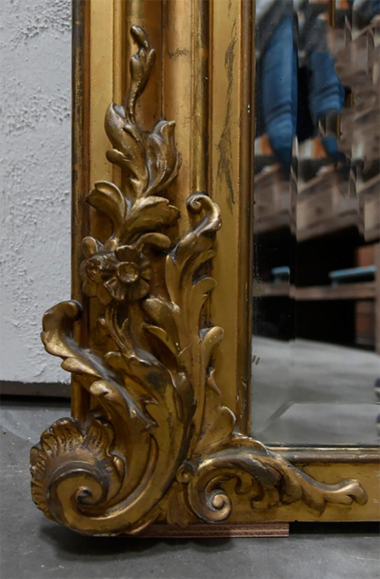 French Antique Mirror, 19th Century For Sale
