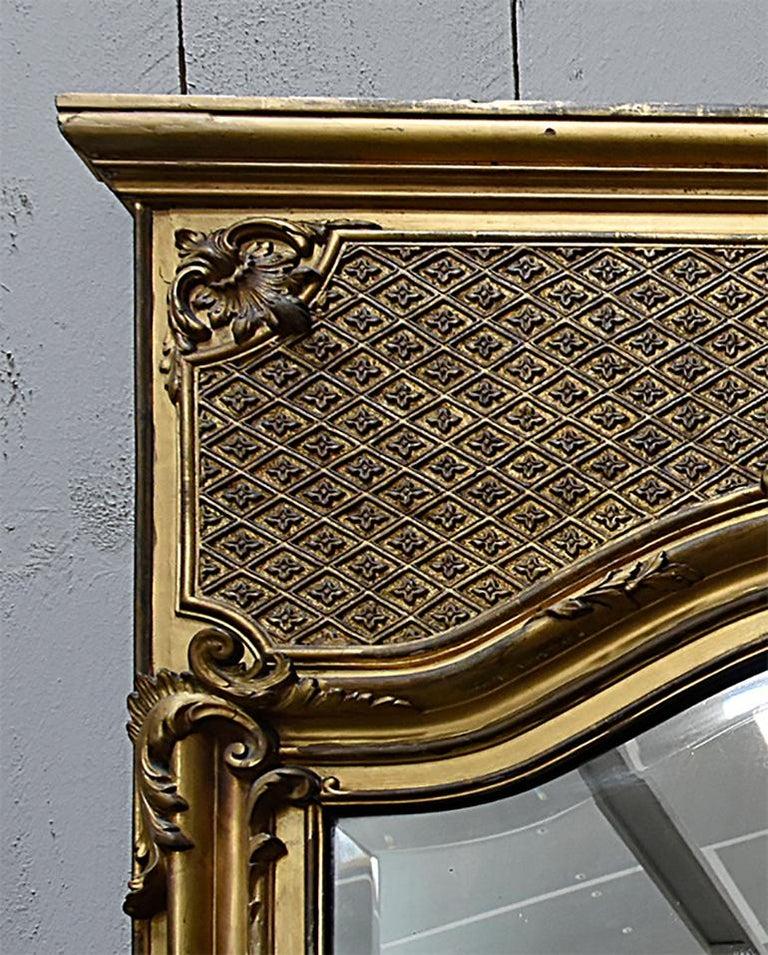 Antique Mirror, 19th Century In Fair Condition For Sale In Udenhout, NL
