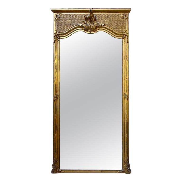 Antique Mirror, 19th Century For Sale