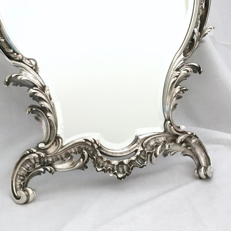 Antique Mirror, A. Aucoc, Paris, Rococo, 1900 For Sale 1