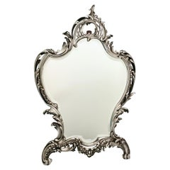 Antique Mirror, A. Aucoc, Paris, Rococo, 1900, documented