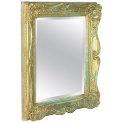 Antique Mirror, Victorian, Painted Gilt Gesso Frame, Classical Taste, circa 1890