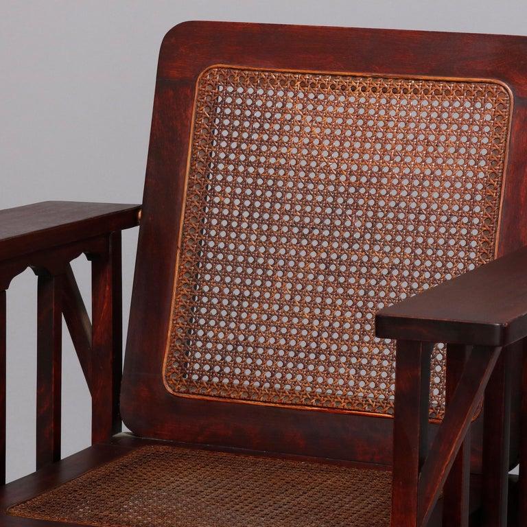 Superb Antique Mission Arts And Crafts Phoenix Co Mahogany And Inzonedesignstudio Interior Chair Design Inzonedesignstudiocom