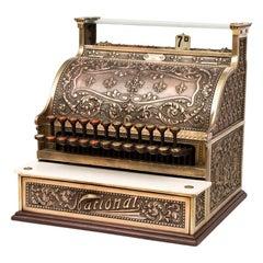Antique Model 235 Cash Register from National Cash Register Co., 1914