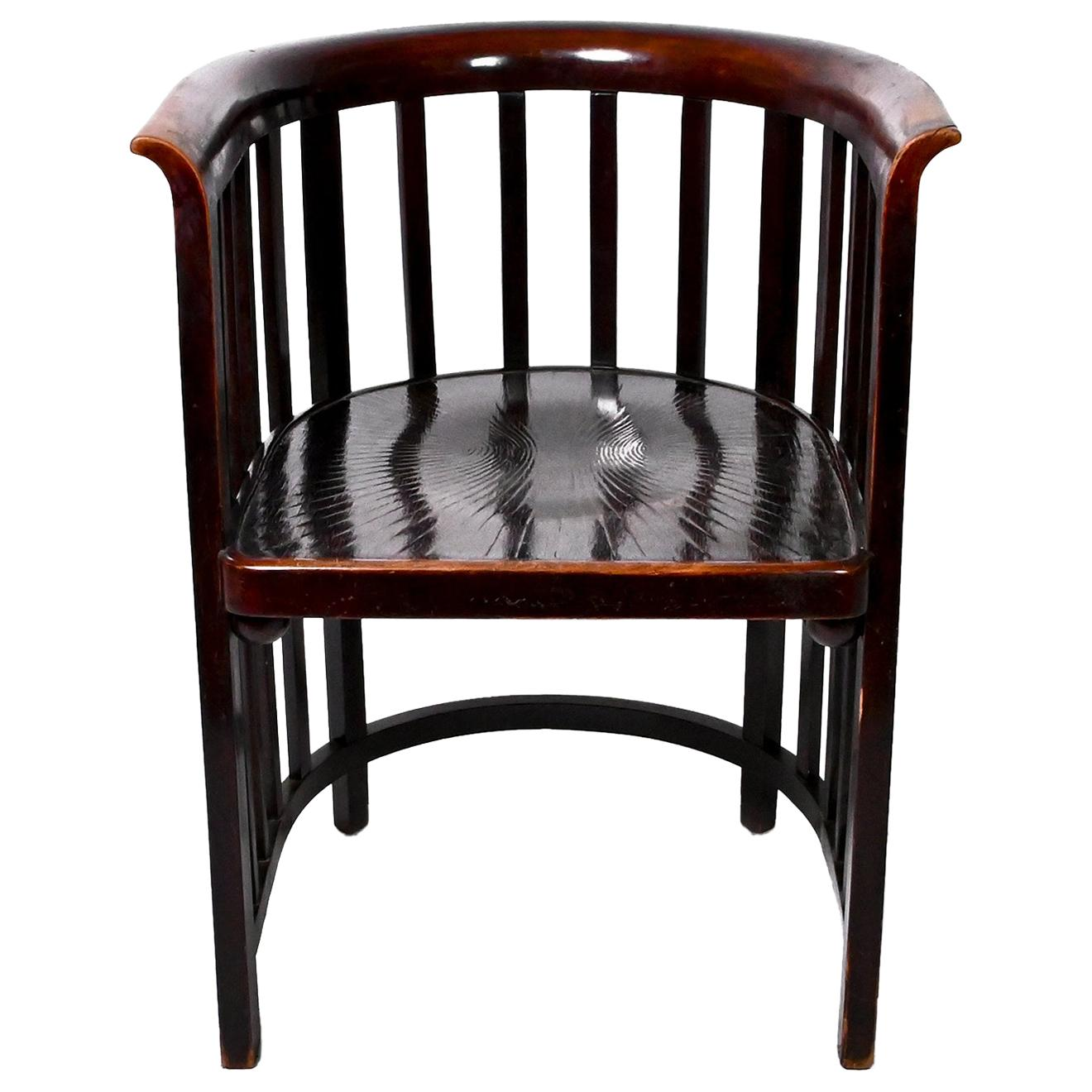 Antique Model 423/F Armchair by Josef Hoffmann for Jacob & Josef Kohn