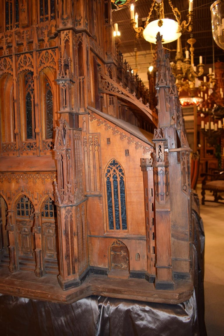Antique Model of Ulm Cathedral For Sale 4
