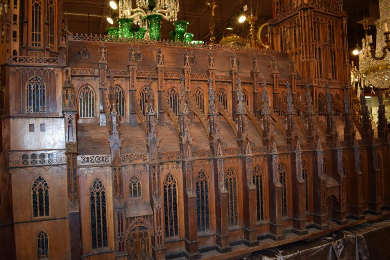 Antique Model of Ulm Cathedral For Sale 2