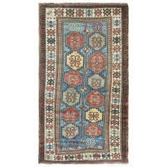 Antique Moghan Kazak Rug