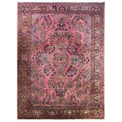 Antique Mohajeran Sarouk Carpet