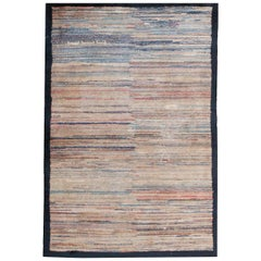Antique Mongolian Rug. Size: 3 ft 9 in x 5 ft 7 in (1.14 m x 1.7 m)
