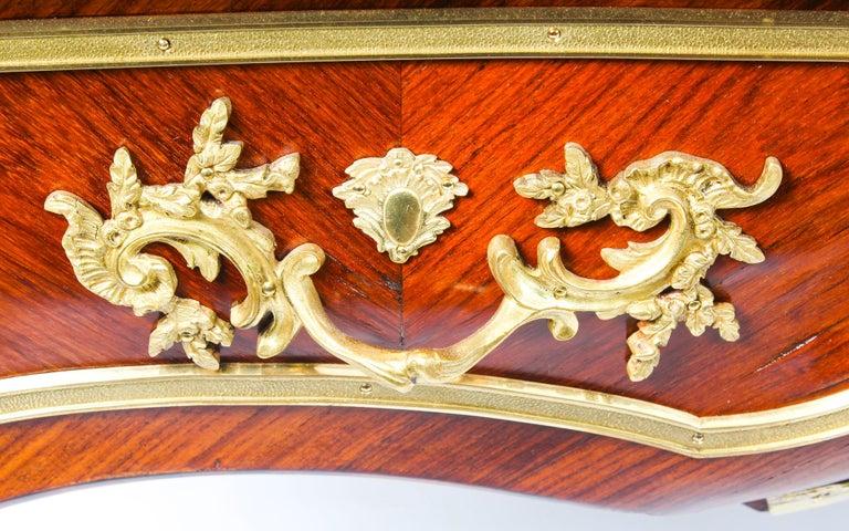 Antique Monumental French Ormolu-Mounted Bureau Plat Desk, 19th Century For Sale 11
