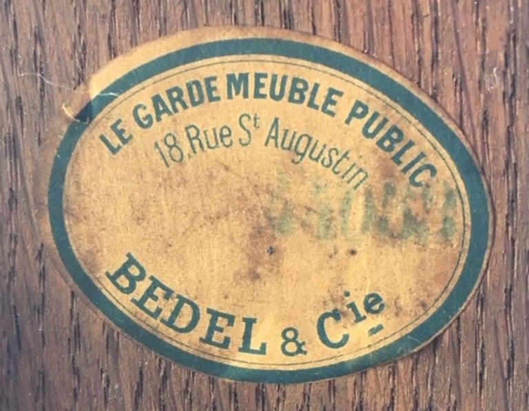 Antique Monumental French Ormolu-Mounted Bureau Plat Desk, 19th Century For Sale 12