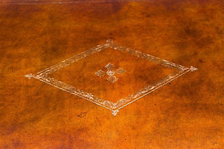 Antique Monumental French Ormolu-Mounted Bureau Plat Desk, 19th Century For Sale 1