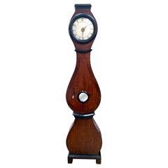 Antique Mora Clock Swedish Biedermeier Natural Ormolu 1800s Gustavian