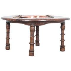 Antique Moroccan Couscous Table
