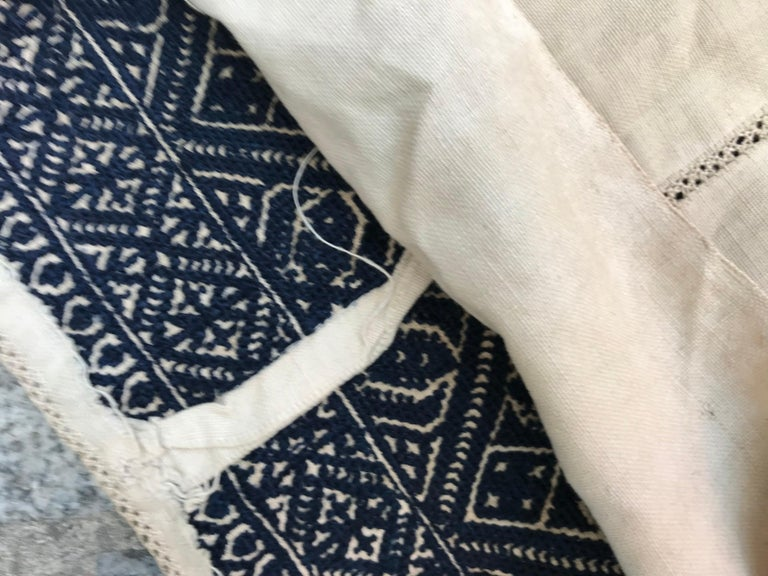 Antique Moroccan Fez Embroidery for Pillow For Sale 6