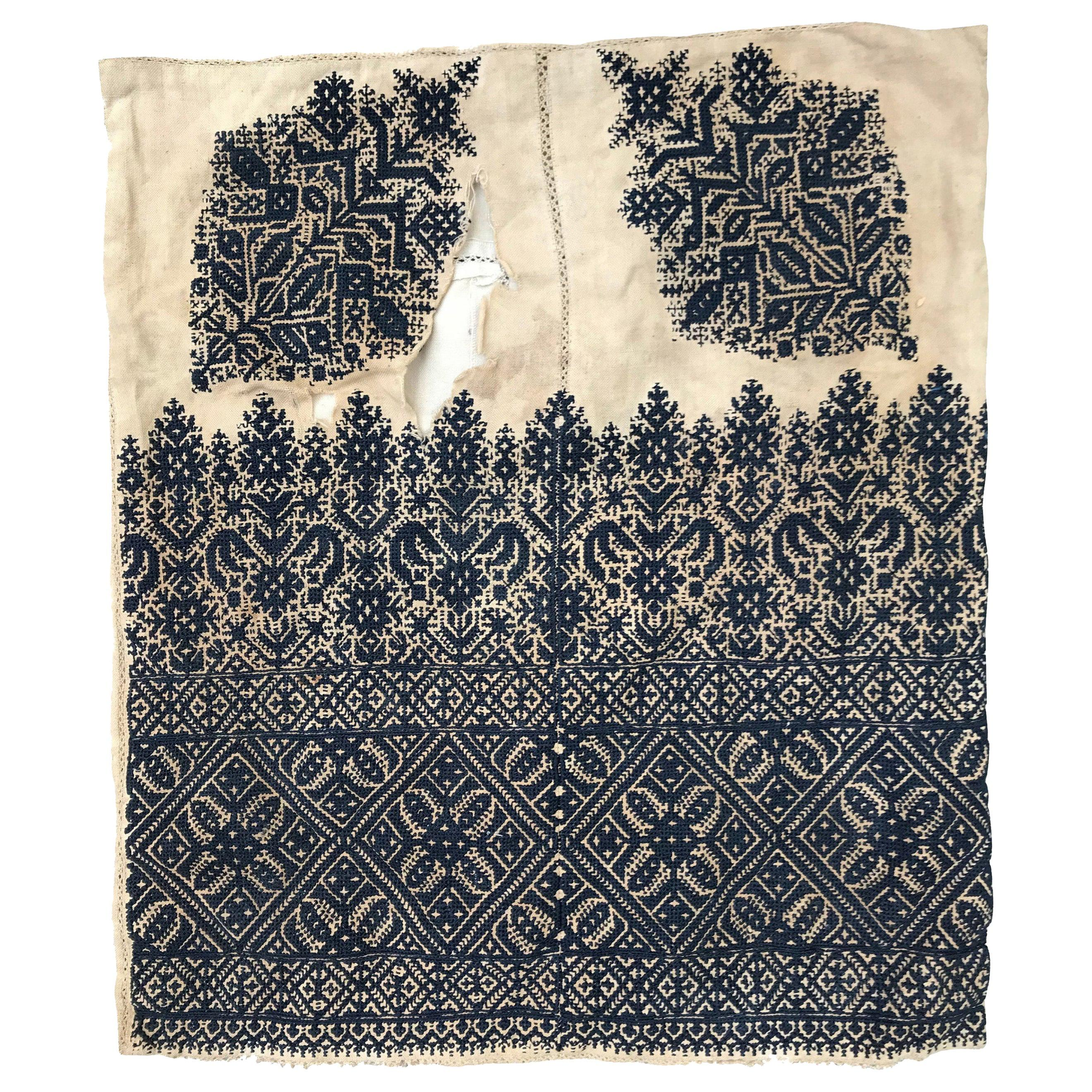 Antique Moroccan Fez Embroidery