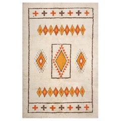 Antique Moroccan North African Rug
