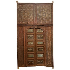 Antique Moroccan Palace Double Door, Marrakech