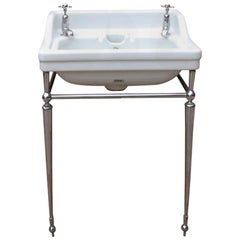 Antique ' Musgraves' Basin with Stand