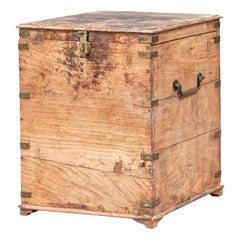 Antique Nautical Storage Cabinet/ Cellarette