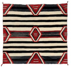 Antique Navajo Chief Blanket Third Phase