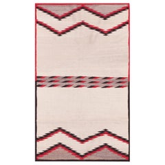 Antique Navajo saddle carpet