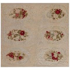 Antique Needlework Carpet