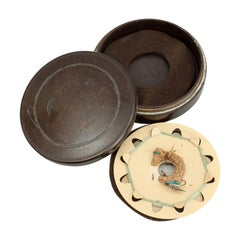 Antique Neroda Fly Fishing Cast Box by Hardy Broth, in Bakelite