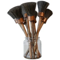 Antique New Old Stock French Artist Paint Brushes