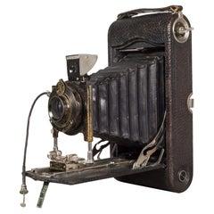 "Antique ""No. 3A Pocket Kodak"" Folding Camera c.1916-1927"