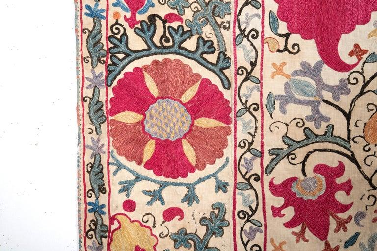 Antique Nom Suzani from Bukhara Uzbekistan, 19th Century 1