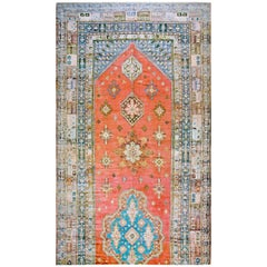 Antique North African Moroccan Rug