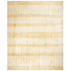 Mid 20th Century Moroccan Minimalist Carpet