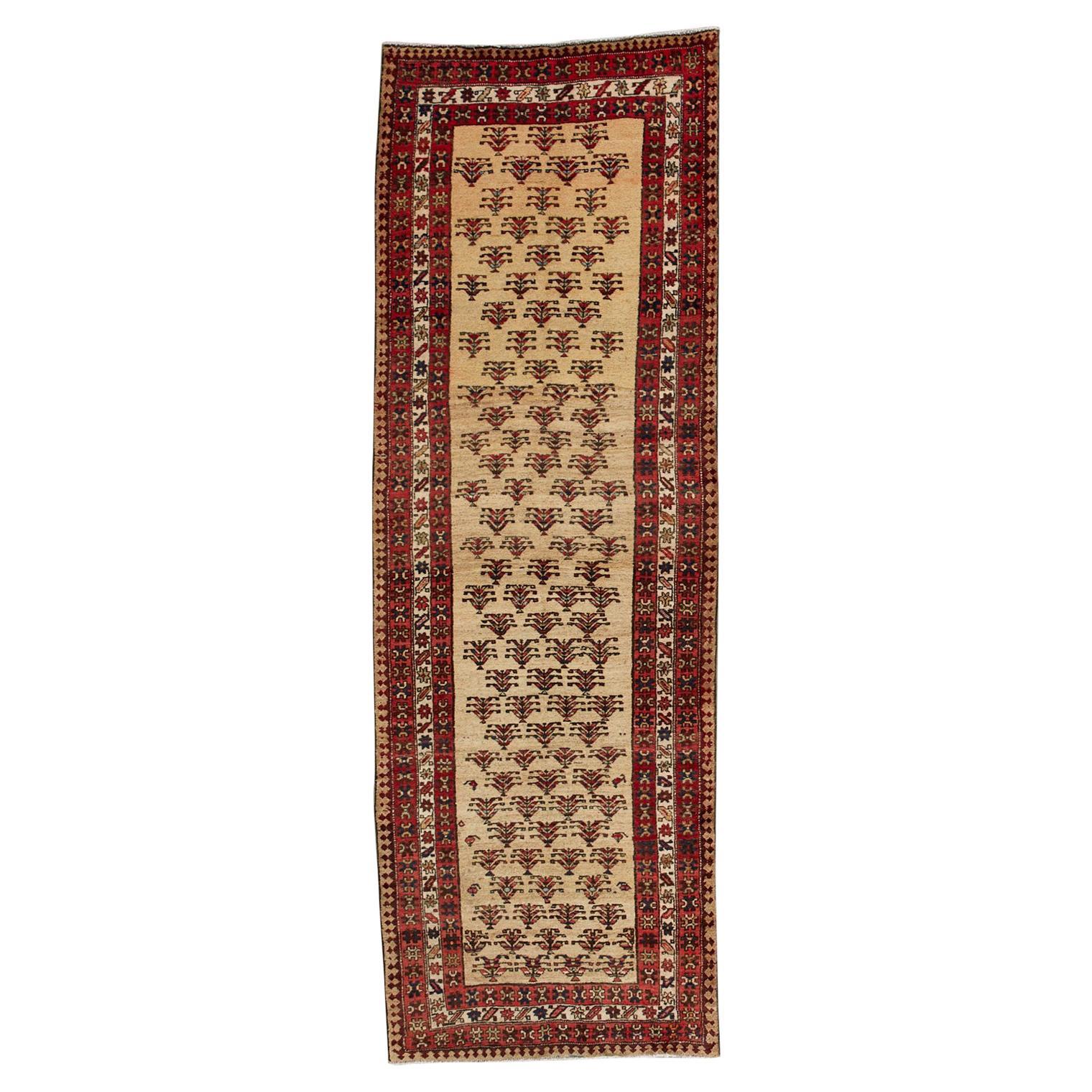 Antique Northwest Persian Ardabil Runner Carpet