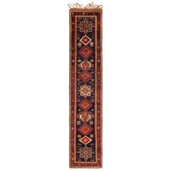 Antique Northwest Persian Runner Rug. Size: 3 ft 4 in x 16 ft 10 in