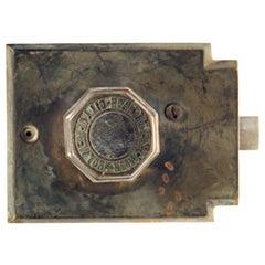 Antique NYC Board of Education Door Knob Mono Lock Set