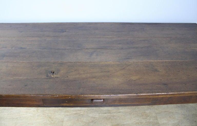 Antique Oak Farm Table 1